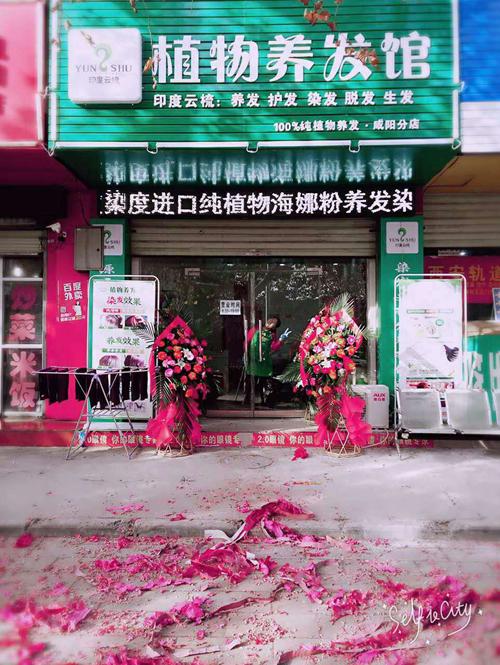 陕西咸阳印度云梳植物染发养发加盟店