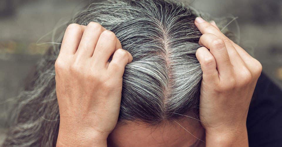 青壮年突生白发,是压力太大了吗?