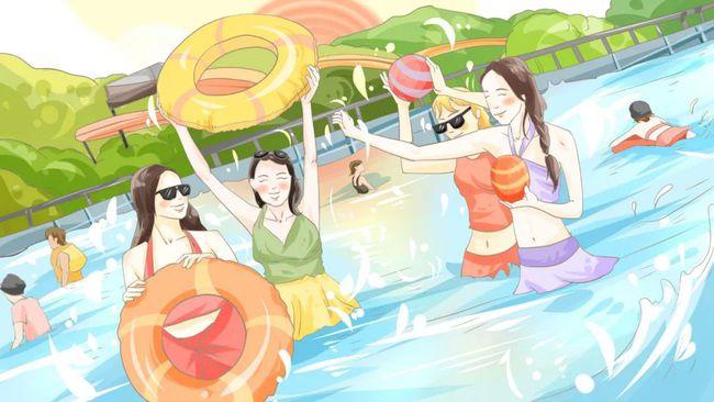 夏季玩水,也要注意头发养护哦